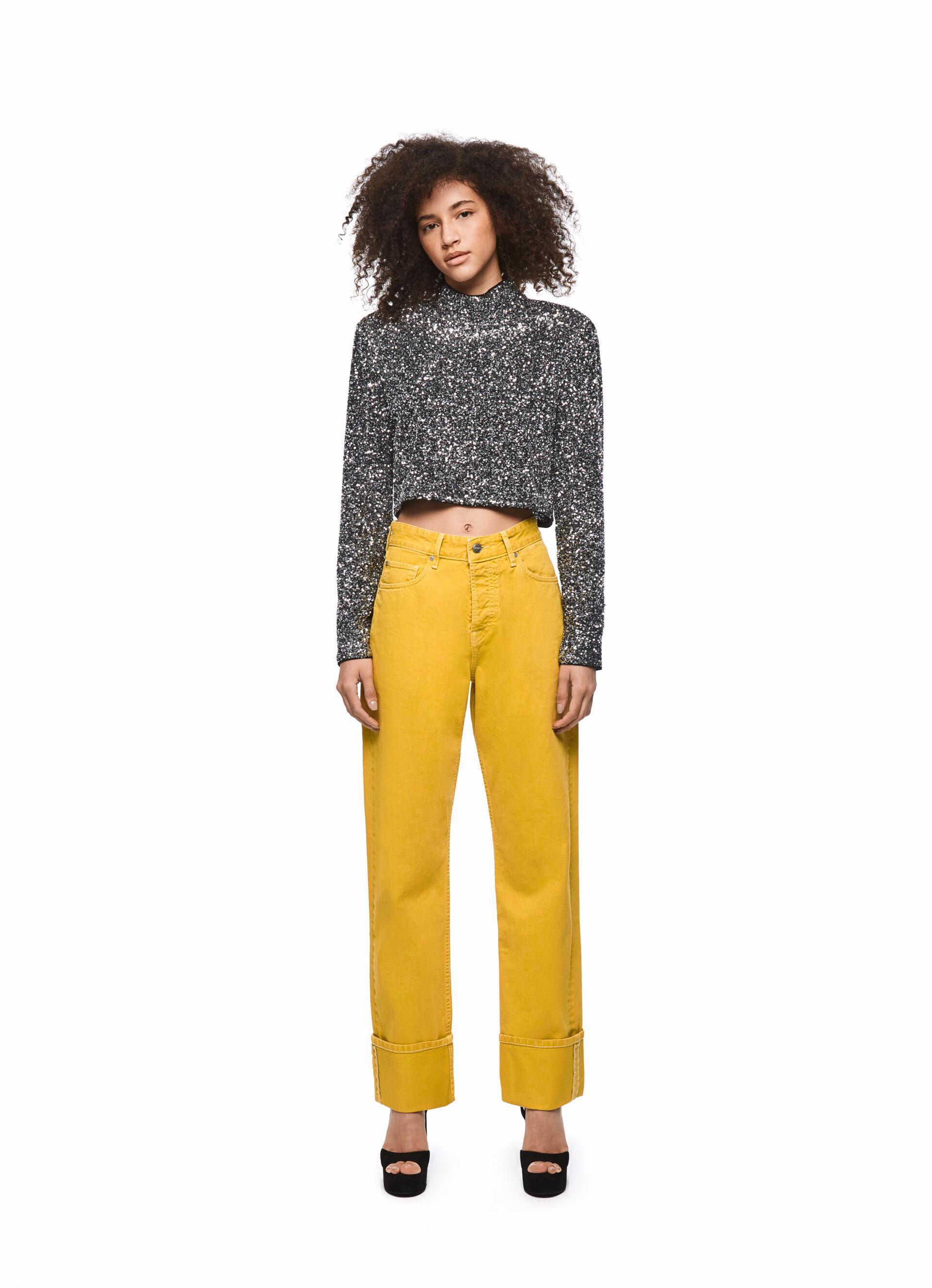 DUA LIPA X PEPE JEANS Retro Coloured Jeans