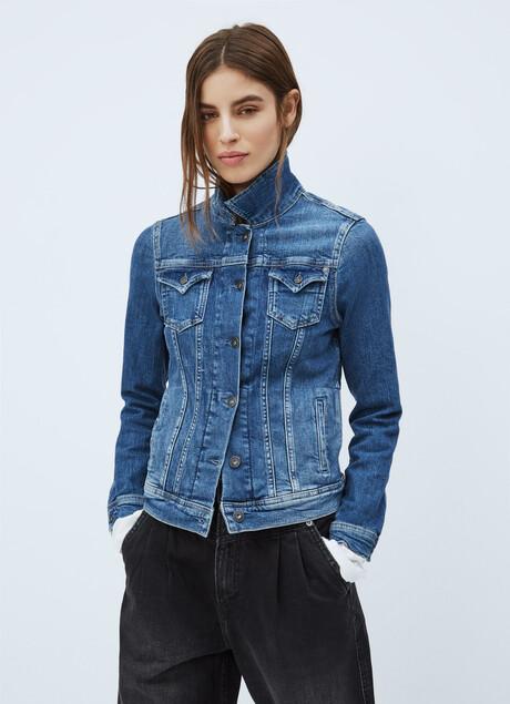 Thrift Denim Jacket Pepejeans