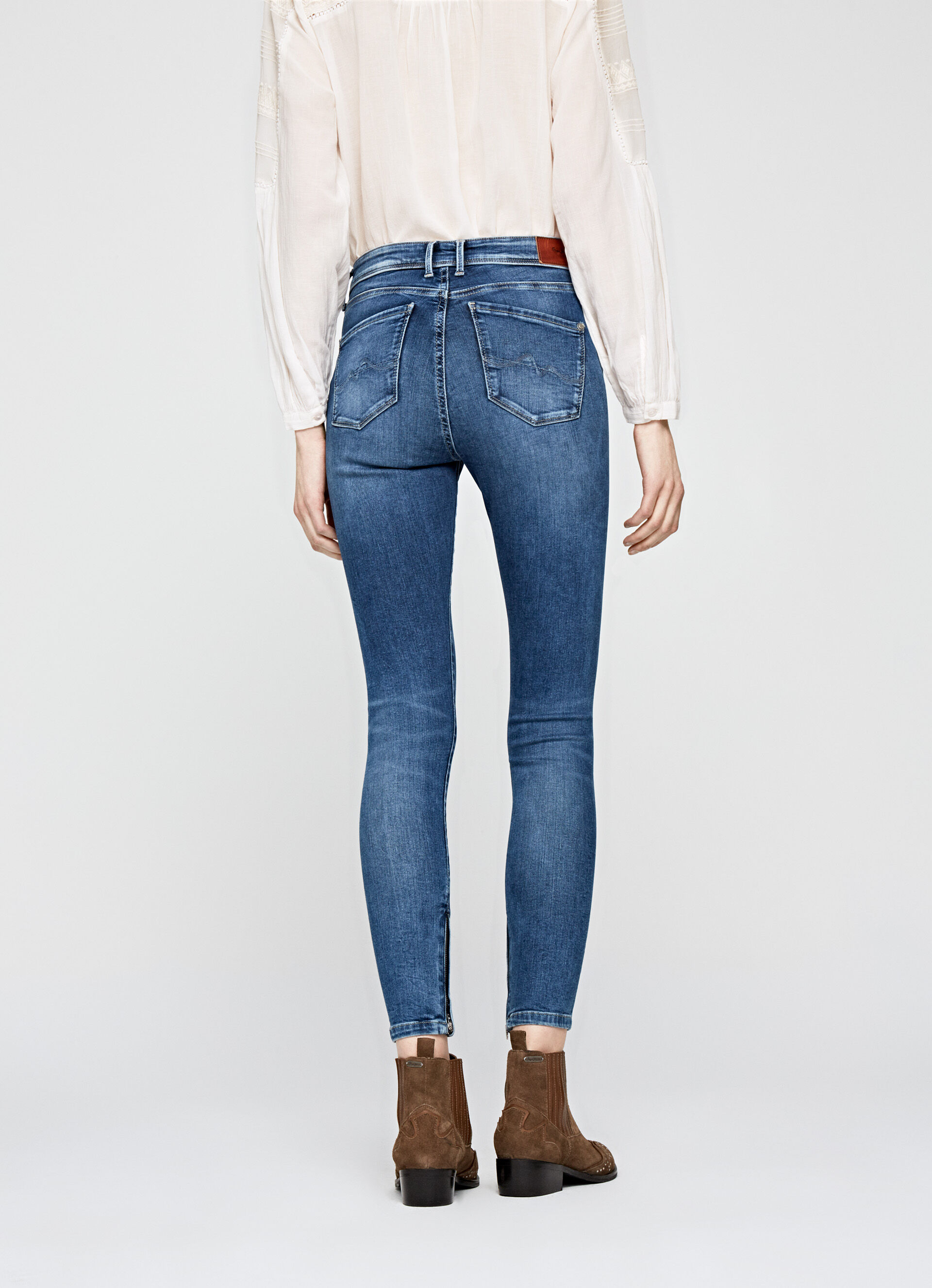 CHER HIGH SKINNY FIT HIGH WAIST JEANS | WOMEN