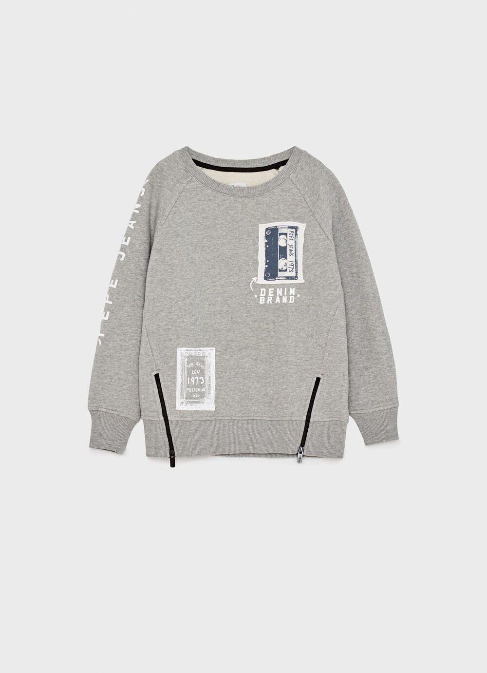 Retro Sweatshirt | Women Sweaters & Knits | Pitch Black