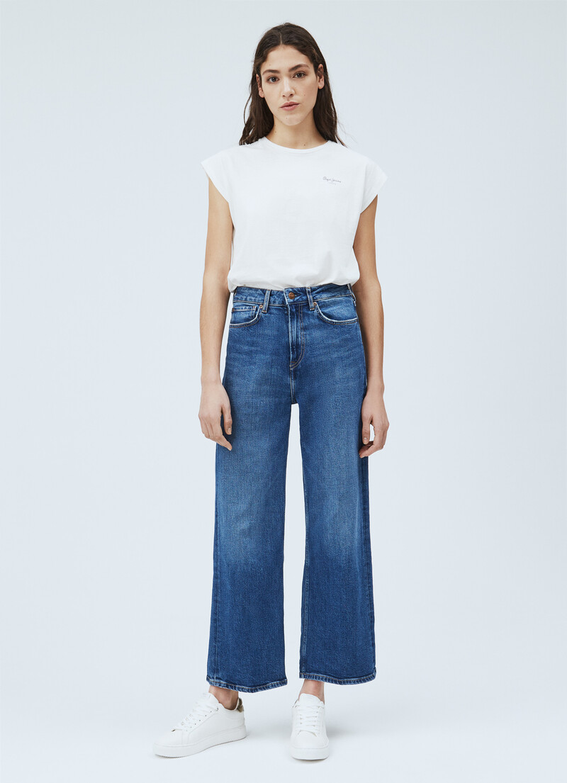 Lexa Sky Wide Fit High Waist Jeans Pepejeans