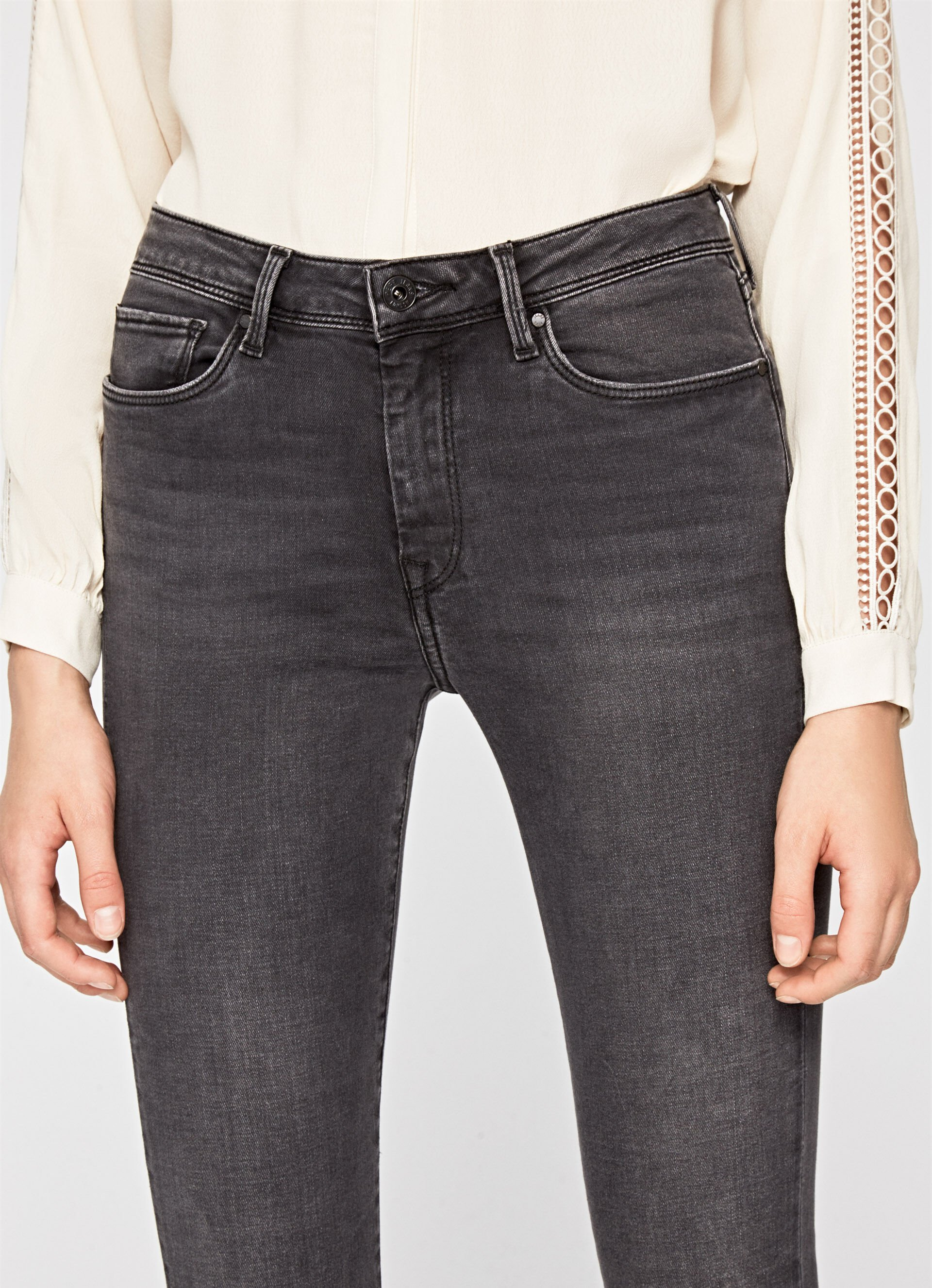 CHER SKINNY FIT HIGH WAIST JEANS