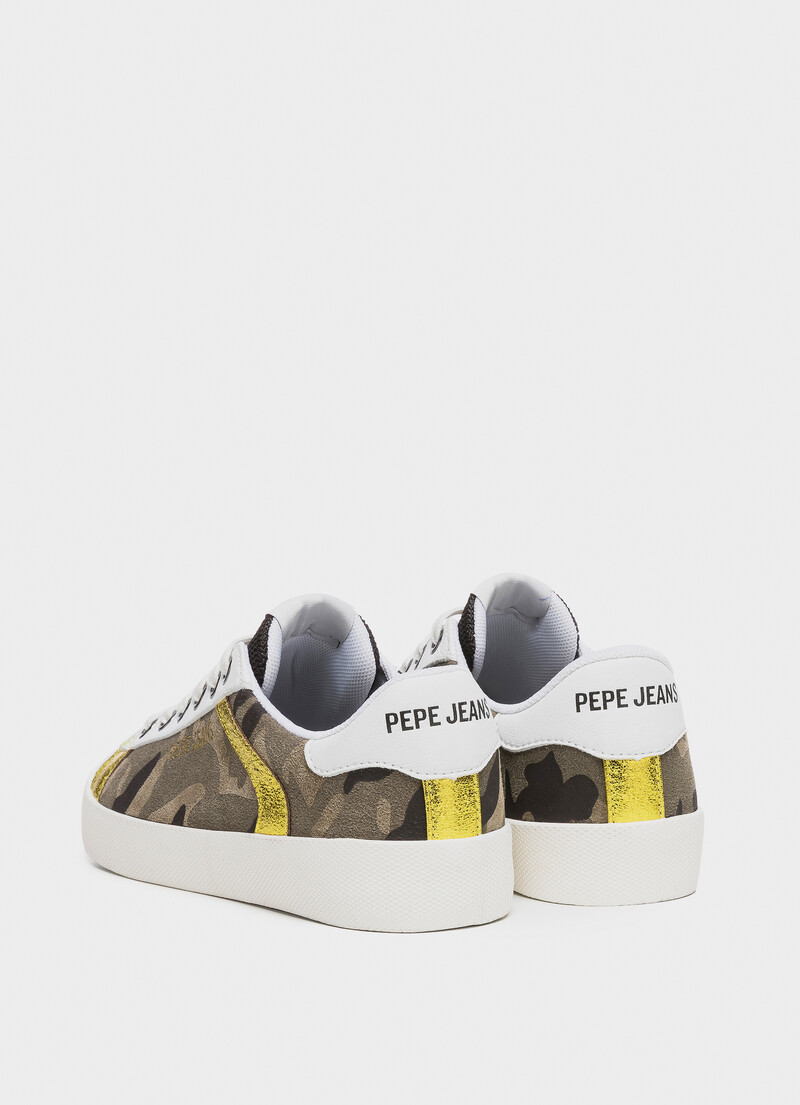 Camo Sneakers Kioto Camu Pepejeans