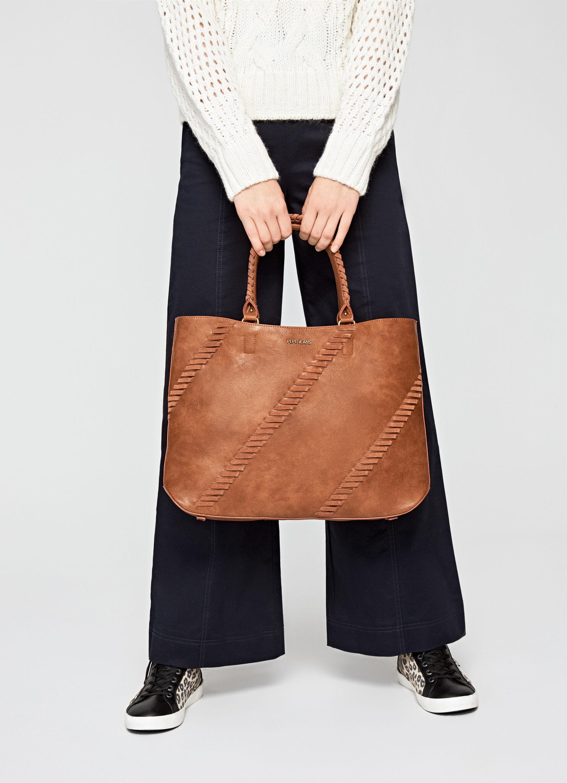 Pepe Jeans Vera Bag Borsa Donna Grey