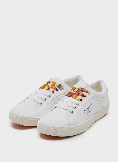 9635a16528a ... large CANVAS SHOES RENE SURF, WHITE, ...