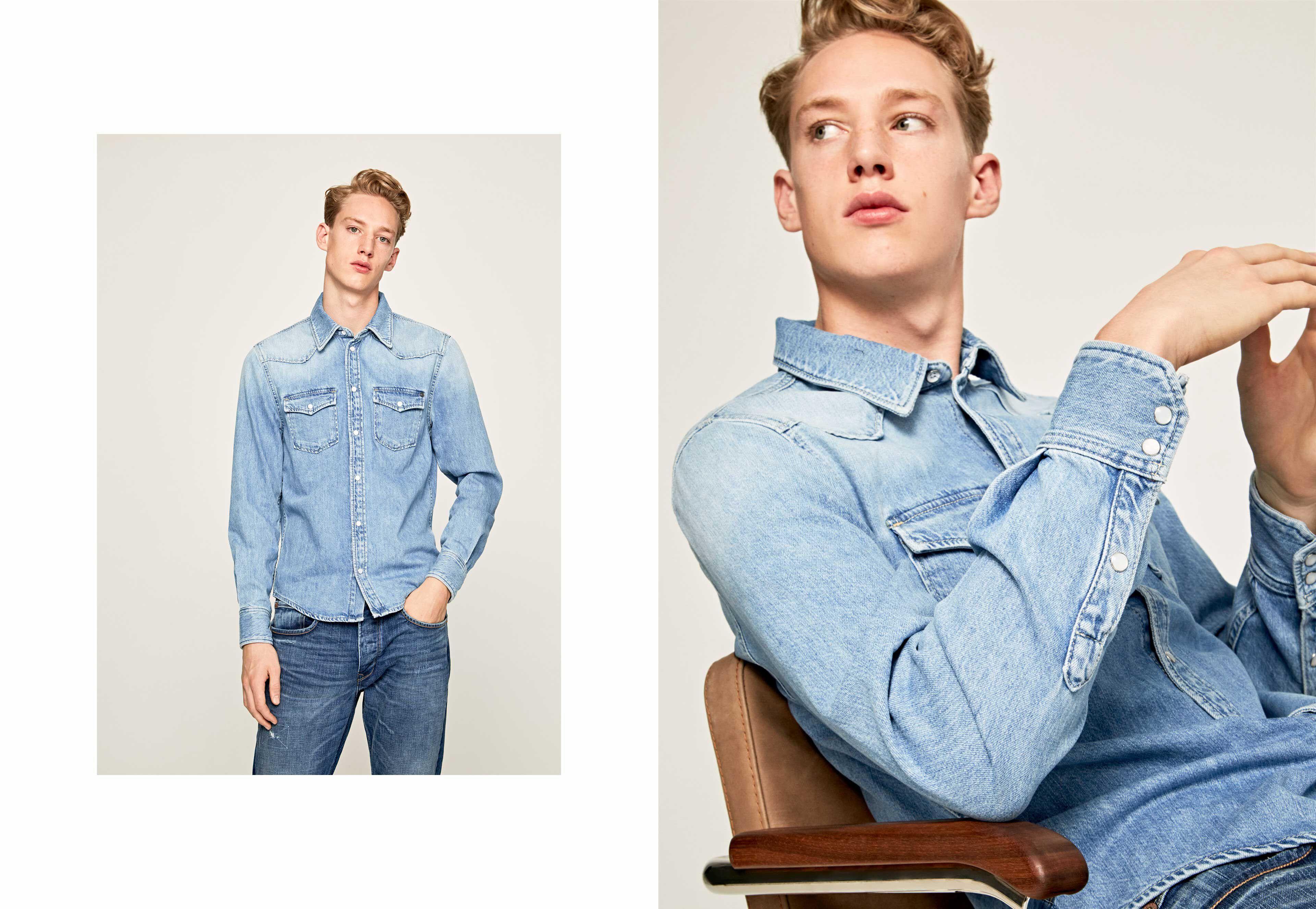 London Jeans Shirt Pepe SALEMen Dress BQCWxoerd
