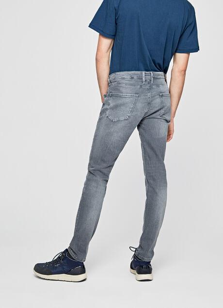 jeans finsbury skinny fit low waist herren. Black Bedroom Furniture Sets. Home Design Ideas