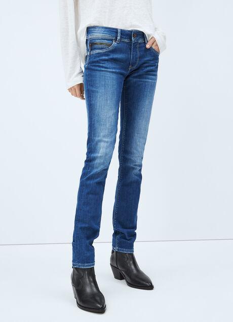 Pepe Jeans New Brooke Jeans Slim para Ni/ños