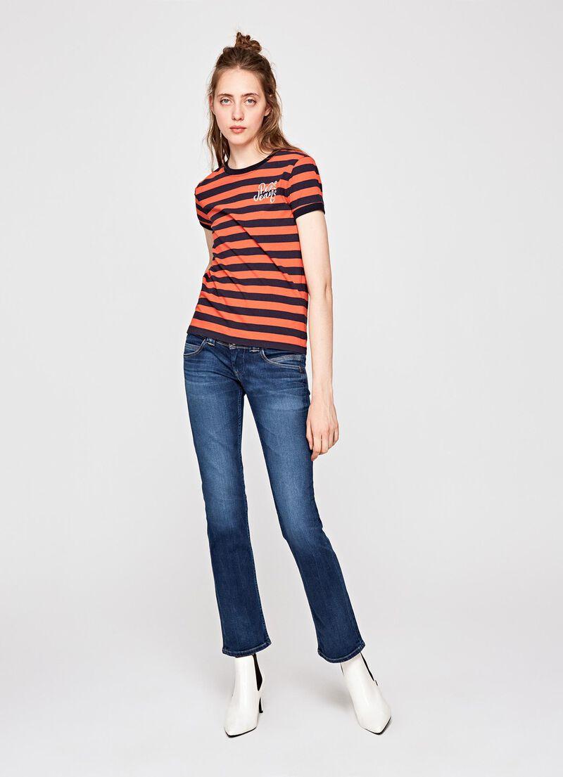 jeans venus straight fit low waist damen. Black Bedroom Furniture Sets. Home Design Ideas