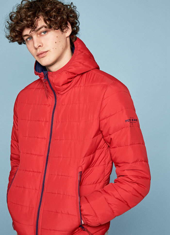 78d1d114 BOREAS PADDED SHORT JACKET WITH HOOD, FLAME, large