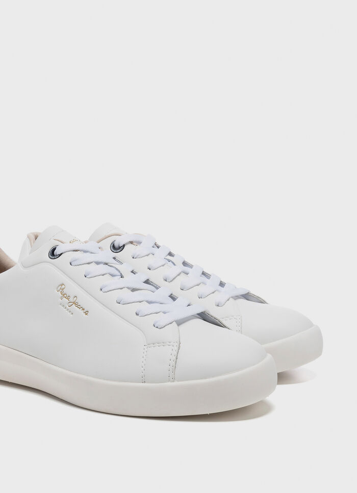 d6c17a862eb LEATHER SNEAKERS ROLAND LTH