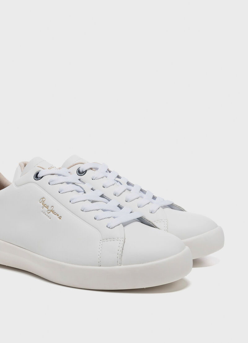finest selection 1c51f 0697d SNEAKERS IN PELLE ROLAND LTH