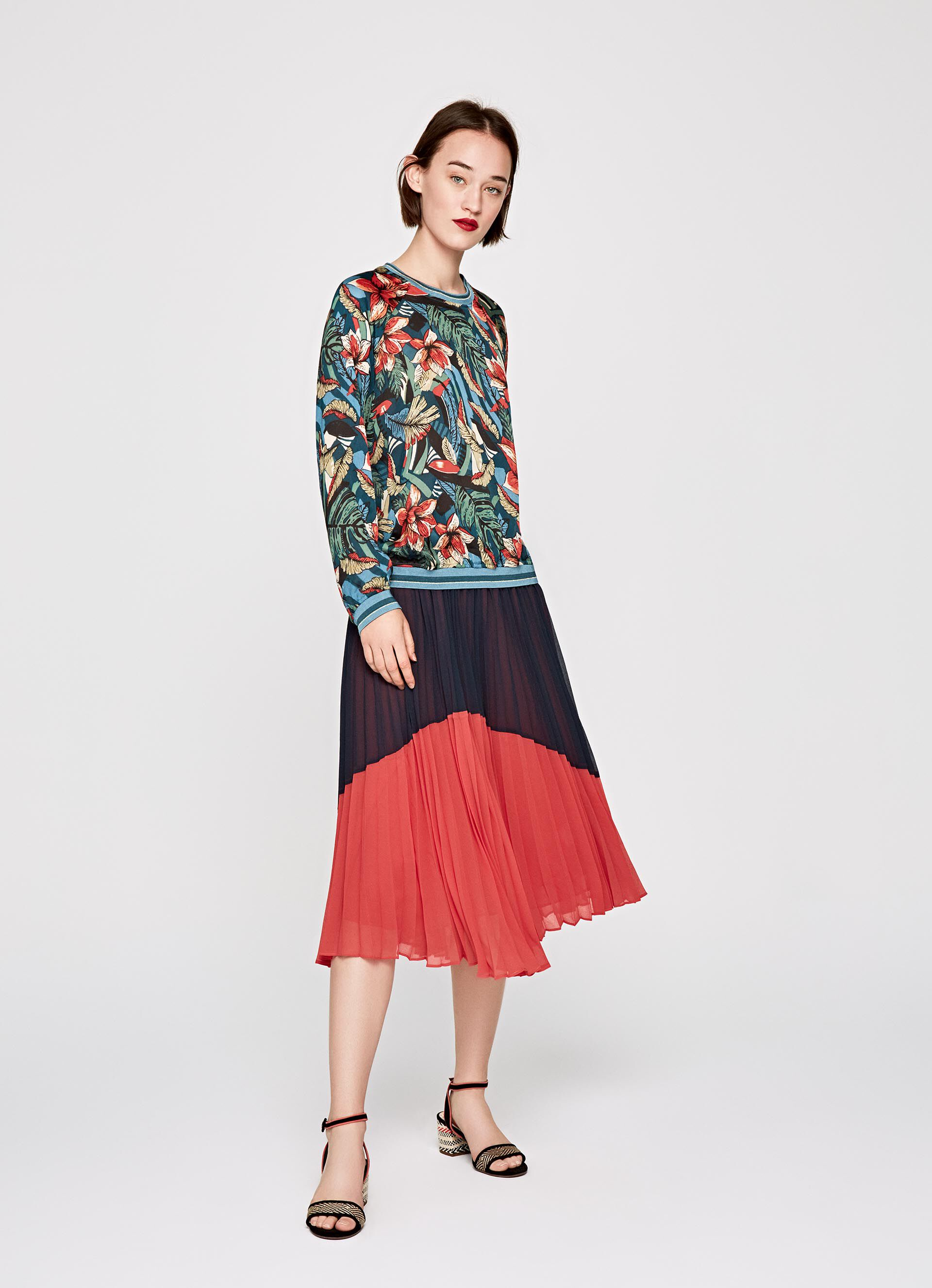 Style Blouse Blouse Style Frances Sweatshirt Sweatshirt mvN0wn8