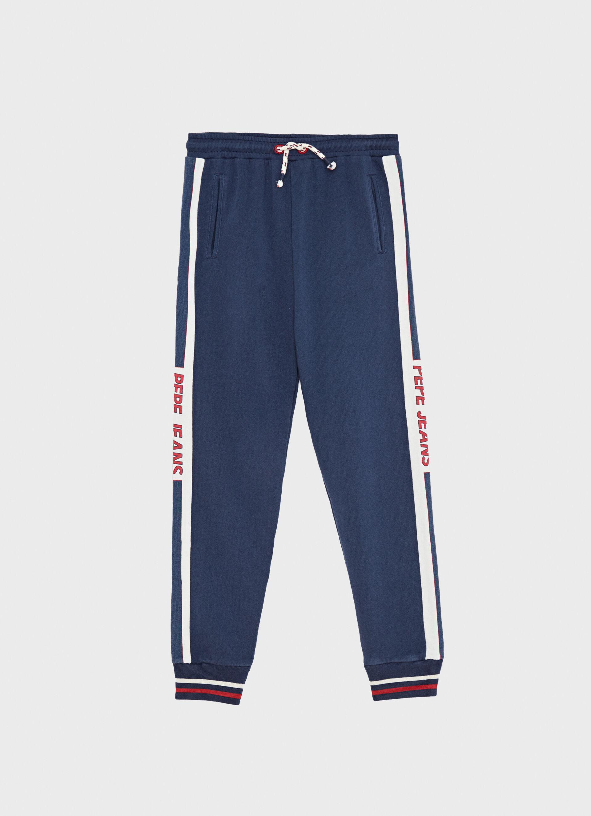 Pantalones deportivos Archive Retro con detalle acolchado