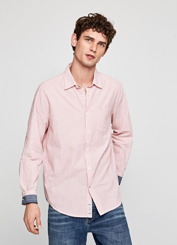 abf4e701191 DEAN STRIPED SHIRT