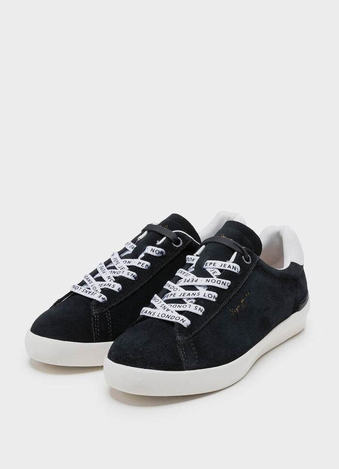 23787f35243 SPLIT LEATHER SNEAKERS ROLAND SUEDE