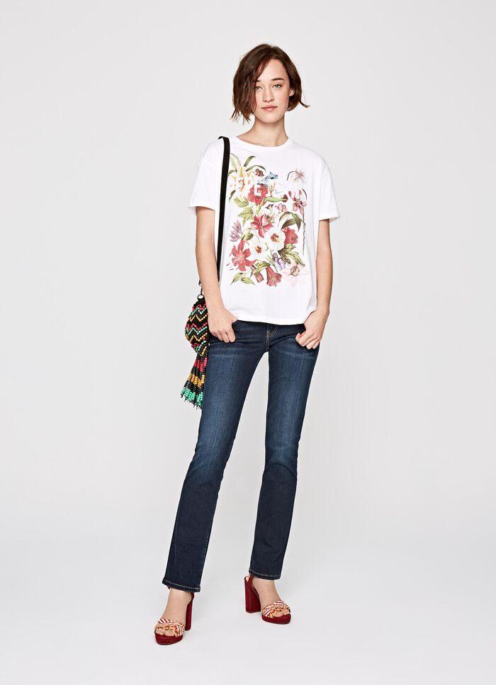 MARINA FLOWER PRINT T-SHIRT 9e6073ae5c