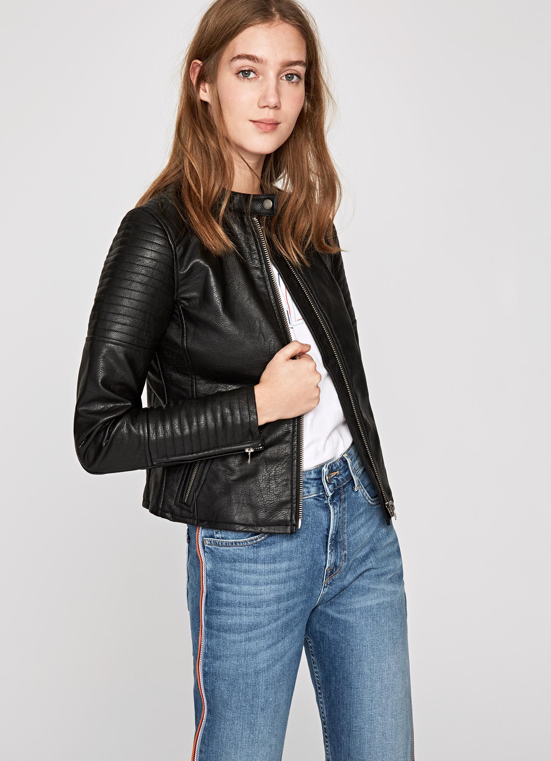 Mujer De Jeans Pepe Abrigos Cazadoras Y London 0wqtxaHE