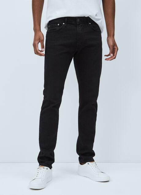 Schwarz Pepe Jeans Herren Hatch Slim Jeans