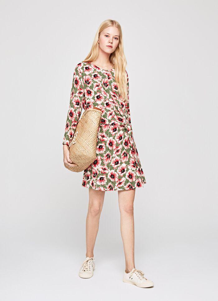 PAOLA FLOWER PRINT DRESS e3dc285d21