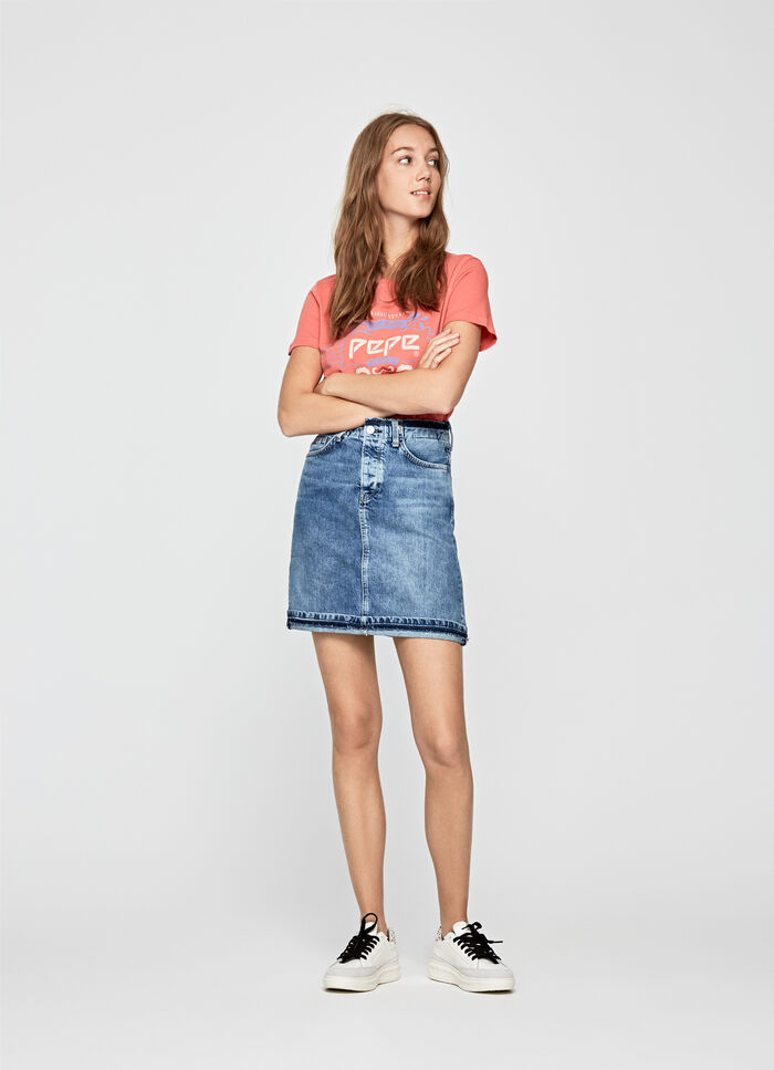 0527a0bcc4 Women's Skirts and Shorts | Pepe Jeans London