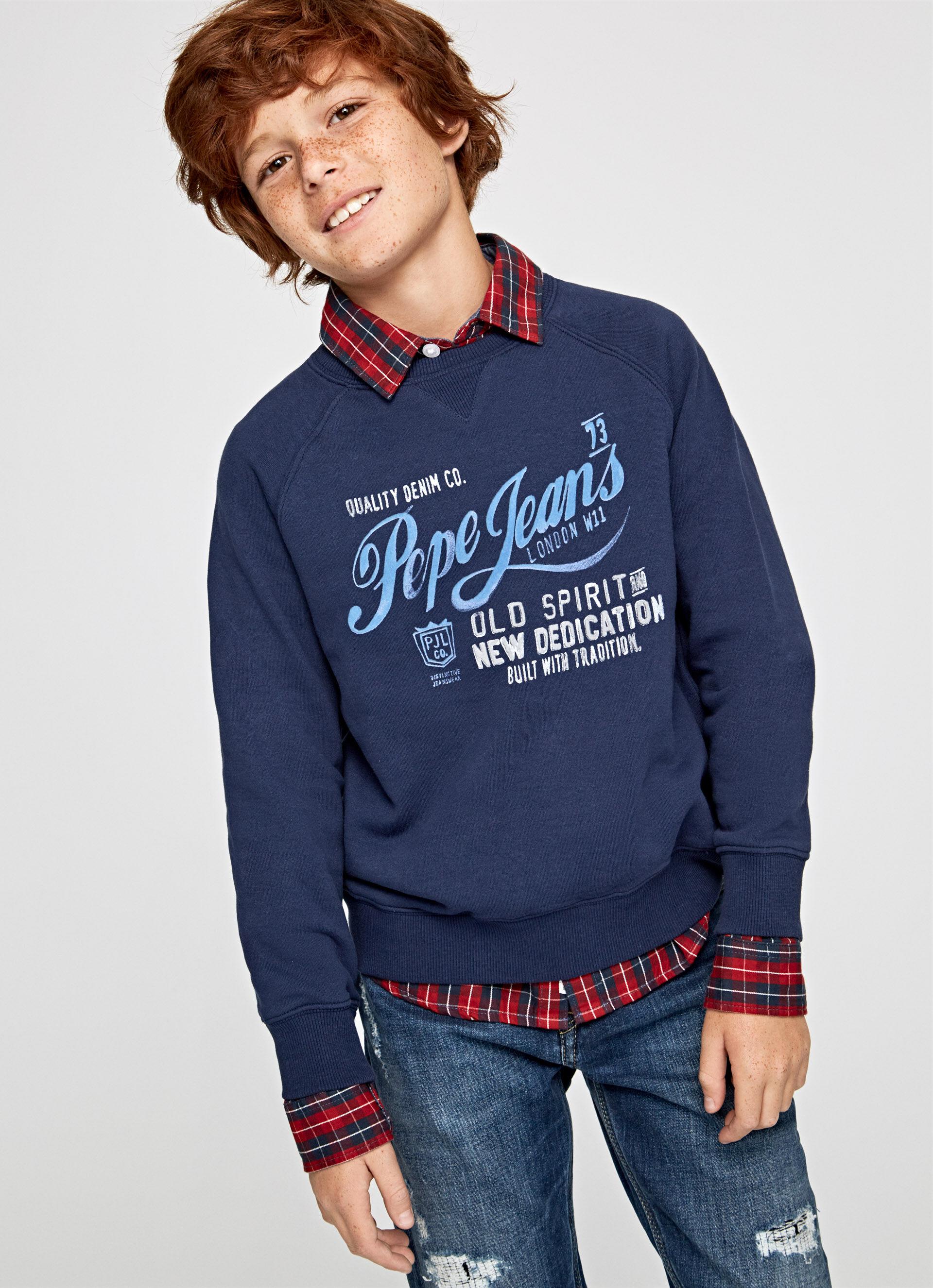 Pepe Jeans Boys Mohsen Sweatshirt