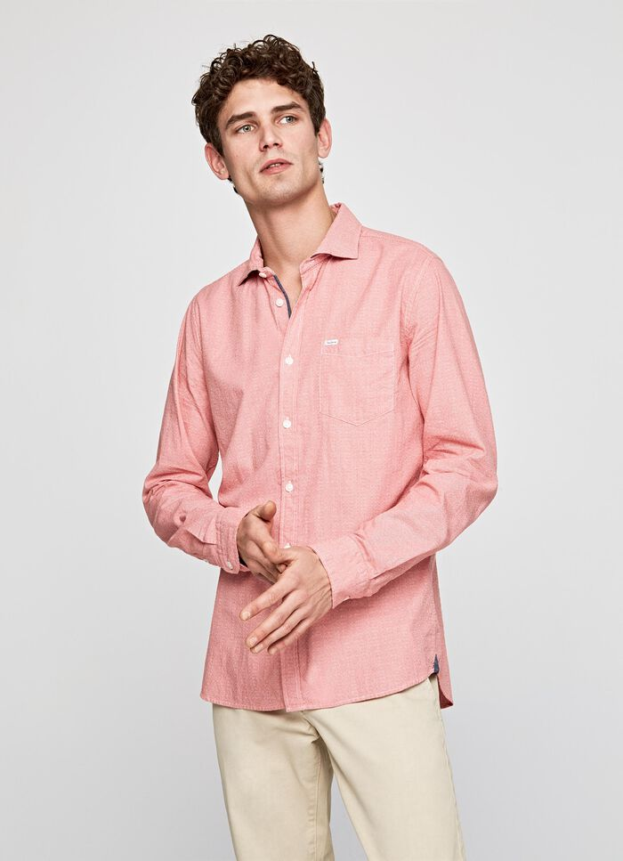 03167079f1e FRANK POCKET BASIC SHIRT