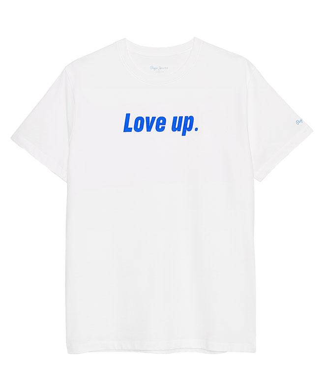 Pepe me up Love up model t-shirt