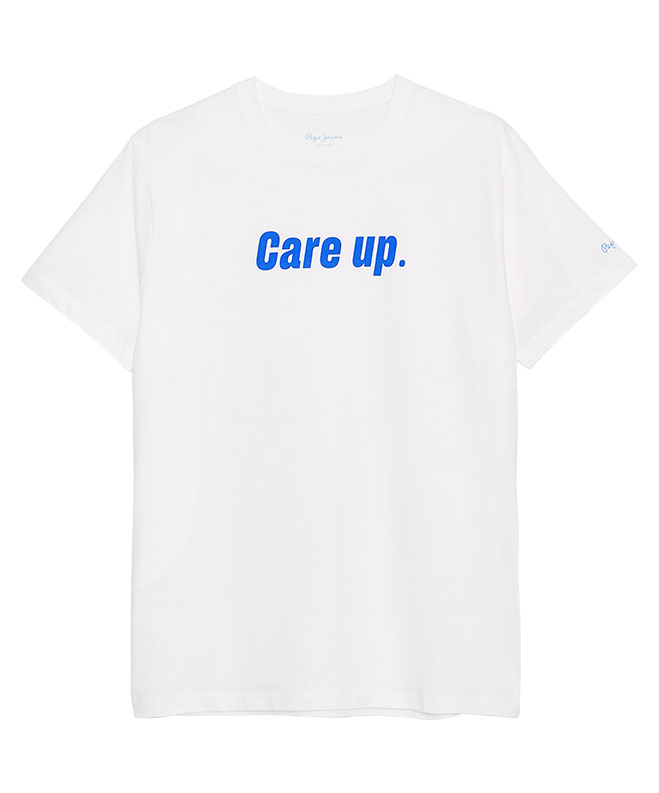 Pepe me up Care up model t-shirt